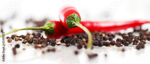 Foto op Plexiglas Hot chili peppers Red chilli pepper
