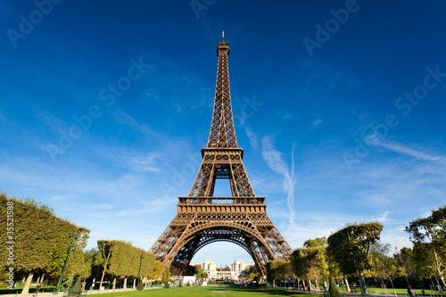 Tour Eiffel Paris France Canvas Print