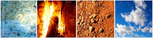Akustikstoff - Vier Elemente