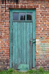 Fototapeta stare drzwi