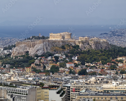 Recess Fitting Athens north view of Parthenon Acropolis Athens Greece