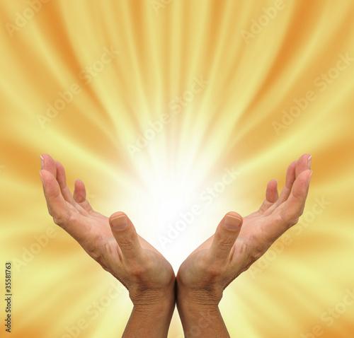 Photo  Healing Energy Field