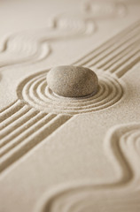 Fototapeta na wymiar Zen garden