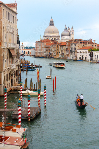 Poster Venise Venice's Grand Canal