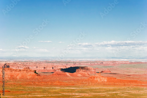 Canvas Prints Cuban Red Landscape of Utah state. USA