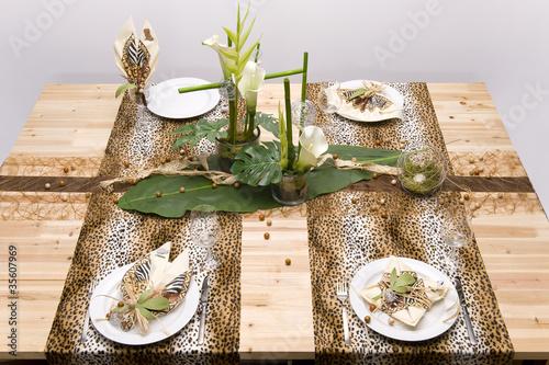 Photo  Tischdekoration