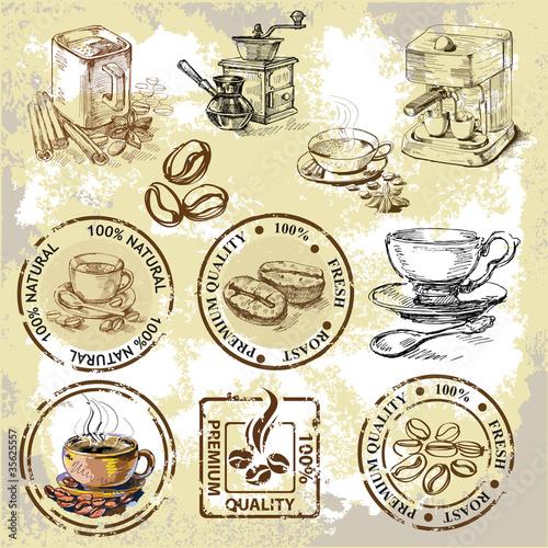 wektorowe-ikony-i-elementy-zwiazane-z-kawa