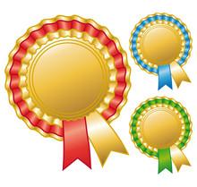 Cocardes Récompenses Sportives