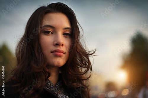 Foto  Asiatische Frau