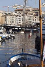"""3 Mâts Barque """"Belem"""" Dans Le Vieux Port De Marseille"""