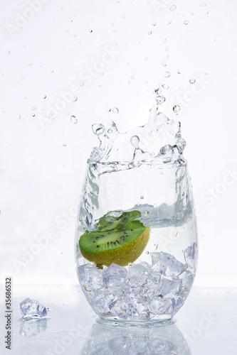In de dag Opspattend water Fresh water