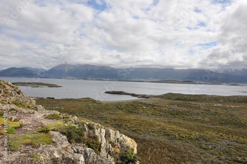 Foto op Aluminium Arctica bahia de ushuaia