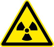 Warnschild Warnzeichen Radioat...