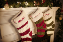 Christmas Stockings By The Fir...