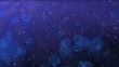 Etincelles glamoures bleues