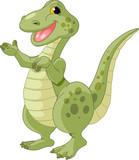 Fototapeta Dinusie - Cute dinosaur