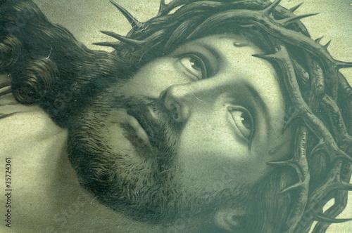 Obraz Jezus ikona spojrzenie - fototapety do salonu