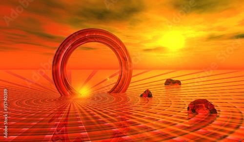 Cadres-photo bureau Brique 3D - EGN - Science-Fiction 104