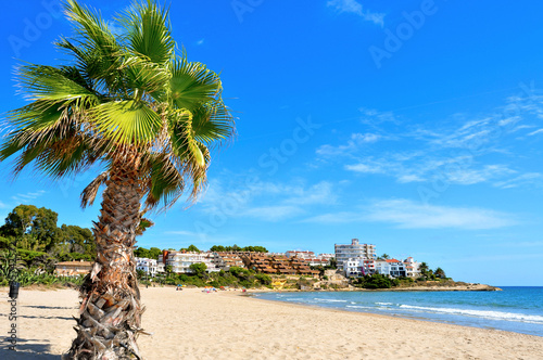 Photo  Beach in Altafulla, Spain