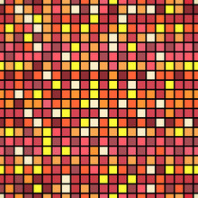 Square Seamless Pattern Background