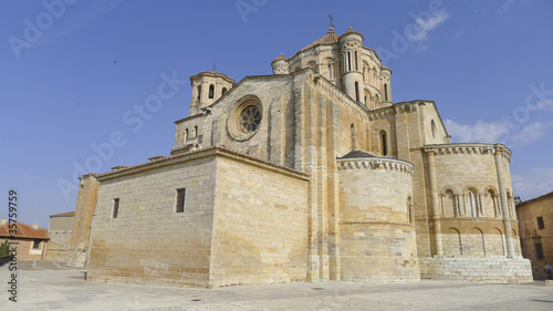 Toro, town of Zamora, Spain. Old church view.