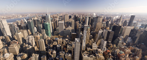 Photo sur Aluminium New York New York City Downtown