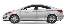 Compact Sedan, Grey