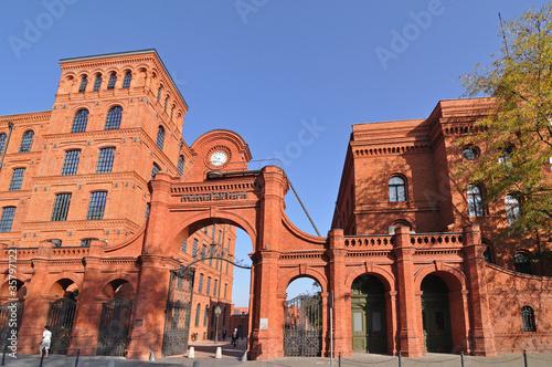 Fototapeta premium manufaktura, Łódź