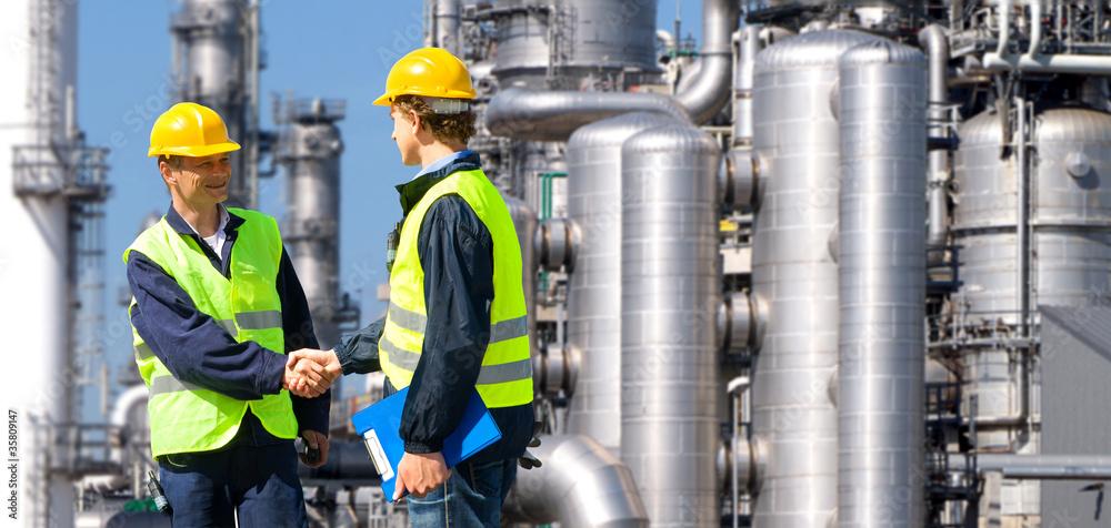 Fototapety, obrazy: Petrochemical contractors