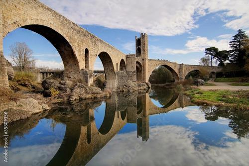 Poster Artistique Besalú bridge