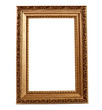 Isolated wooden Photo Frame