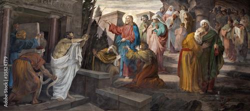 Obrazy religijne mediolan-zmartwychwstanie-lazarza-z-kosciola-san-giorgio