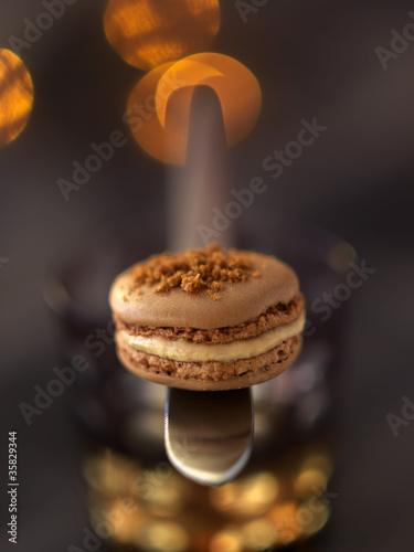 Macaron au foie gras Poster