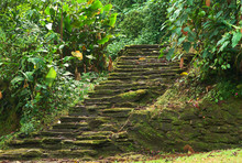 Old Stone Stairs In Ciudad Per...