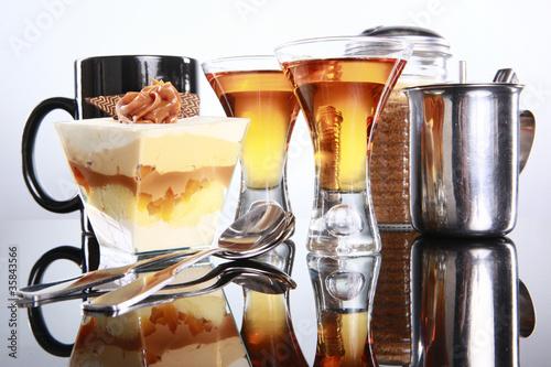 Fotografie, Obraz  Staple latino dessert, three milk and liquor