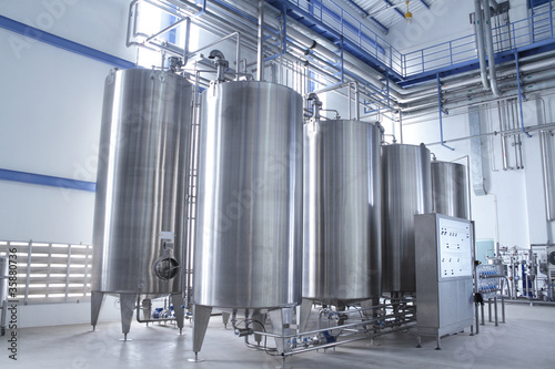 Fotografie, Obraz  Water treatment equipment