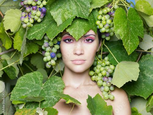 Fotografie, Obraz  Grape goddess