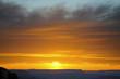 Sunset over Grand Canyon Arizona USA