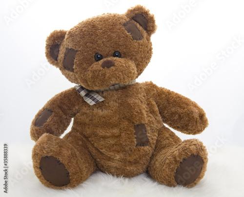 Brown teddy bear #35888339