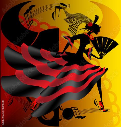 Αφίσα  Spanish dance