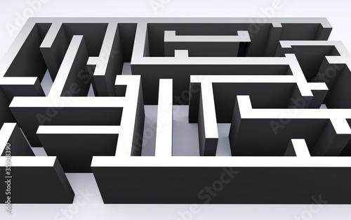 Fotografie, Obraz  labyrinth
