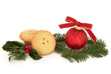 Mince Pie And Bauble