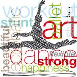 Dancing. Vector illustration - 35956782