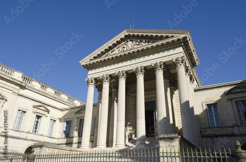 palais de justice de Montpellier, France Canvas-taulu