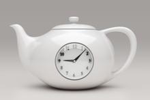 Teapot With Clock