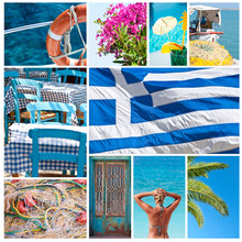 Greece Collage - Travel To Gre...