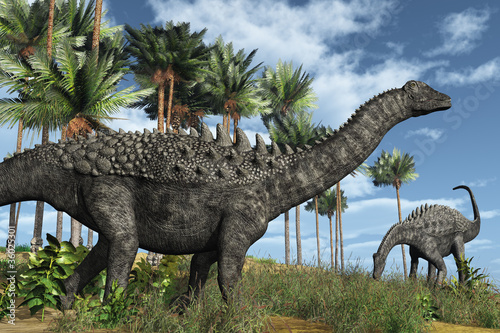 Photo  Ampelosaurus Dinosaurs