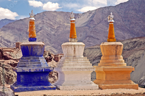 Piccolo Tibet, Ladakh Fototapete