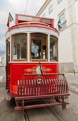 Fototapeta na wymiar tram of Lisbon, Portugal