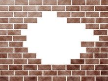 Brick Wall Pattern With Missin...